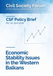 Economic Stability Issues in the Western Balkans
