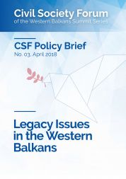 Legacy Issues in the Western Balkans